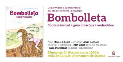 Presentació del projecte artístic i pedagògic BOMBOLLETA